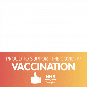 Proud to support the COVID-19 Vaccination programme